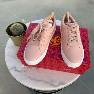 Tory Burch Marion Quilted Leather Sneaker